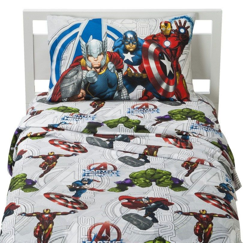 Avengers Assemble Wall Stickers Marvel Comics Bedding And