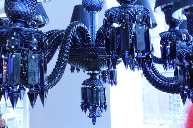 blue chandelier light crystal chandeliers zoom bomer