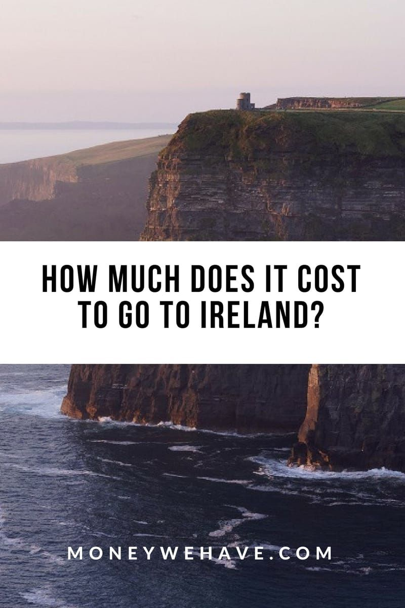How Much Does it Cost to go to Ireland?