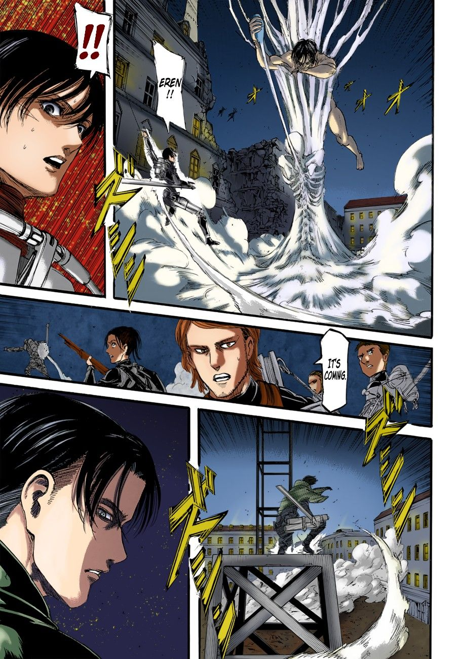 AOT Chapter 102 Colored Page 41 in 2020   Attack on titan ...