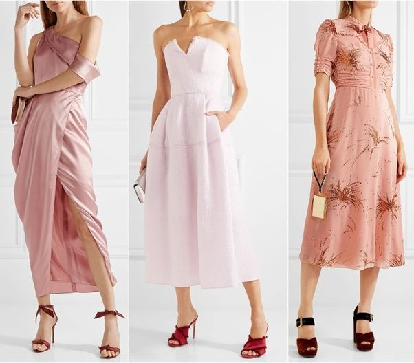 8761080ef48 What shoe color goes best with a baby pink dress  - Quora