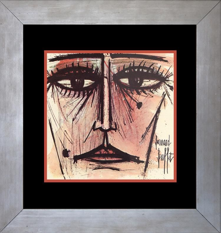 Swell Bernard Buffet Lithograph Over 50 Years Ago Mechanical Download Free Architecture Designs Boapuretrmadebymaigaardcom