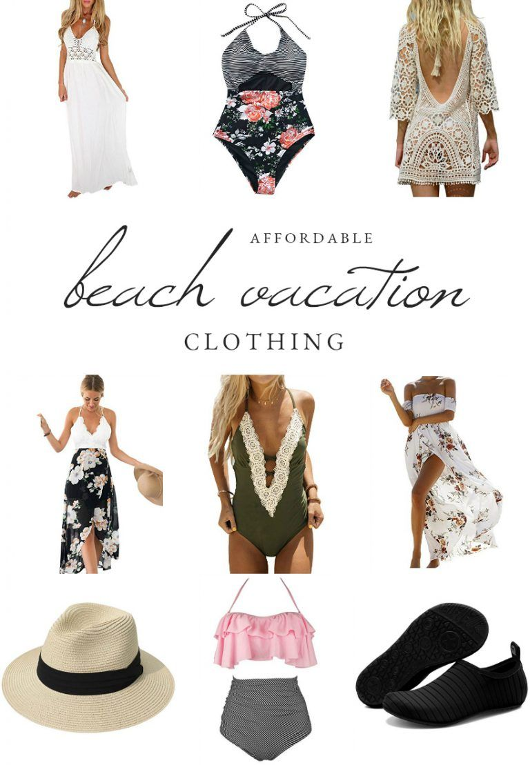 Affordable Beach Vacation Clothing #beachvacationclothes