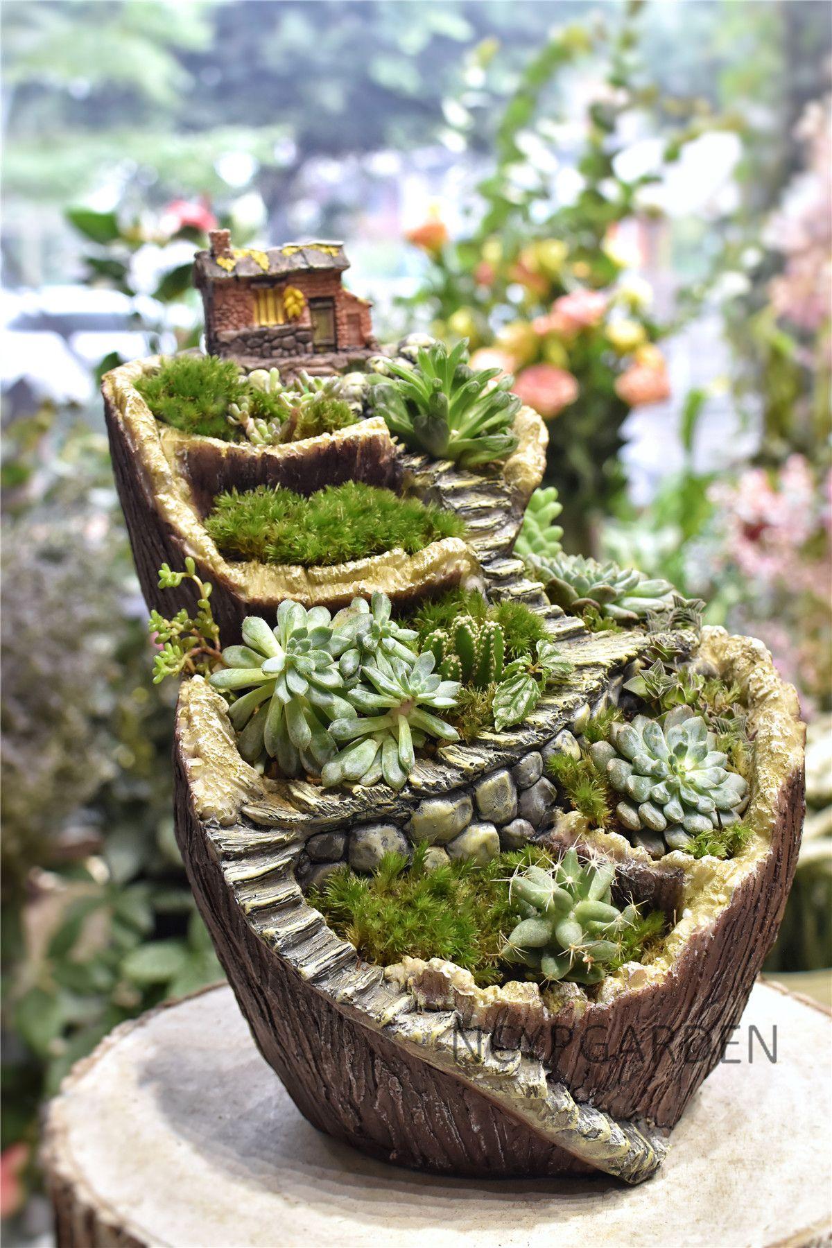 Fairy Garden Planter Tabletop Flower