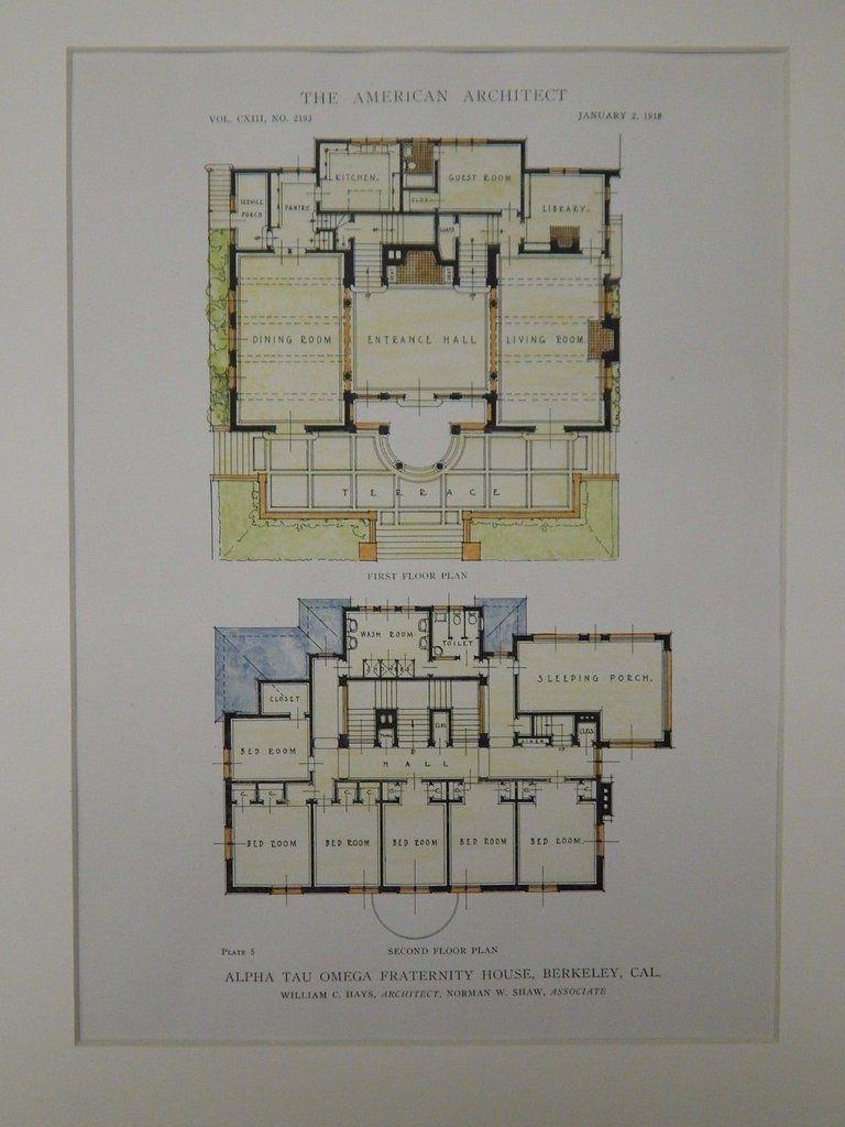 floor plans alpha tau omega fraternity house berkeley