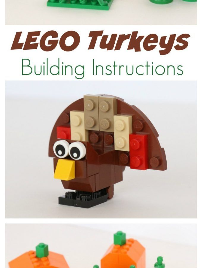Lego Turkey Building Instructions Legos Pinterest Lego
