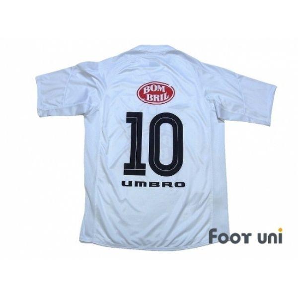 Photo2  Santos FC 2003 Home Shirt  10 umbro - Football Shirts 05a5af25e