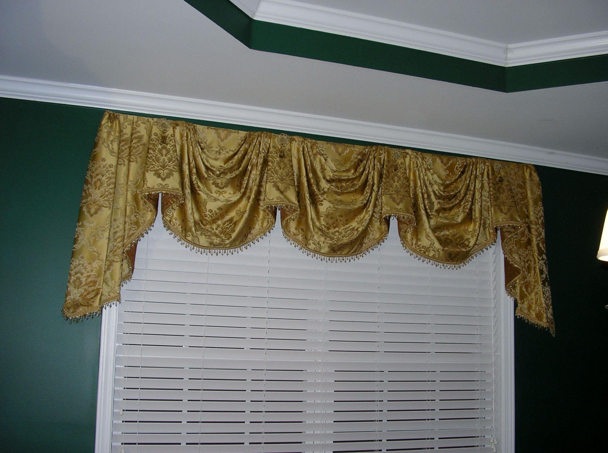 M Fay Pattern Home Decor Decor Valance Curtains
