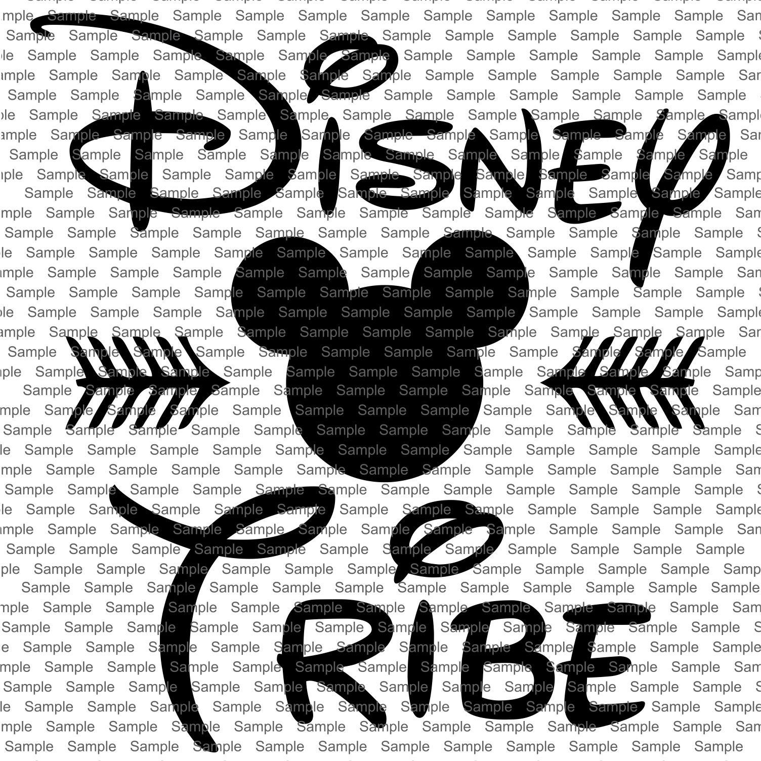 Disney Tribe Mickey Mouse SVG, Mickey head svg, download
