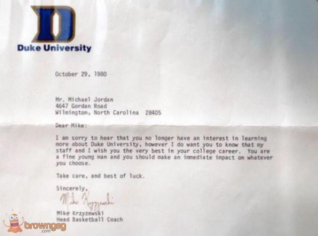 A Letter to Michael Jordan wwwfacebook/thebrowngag GAGs