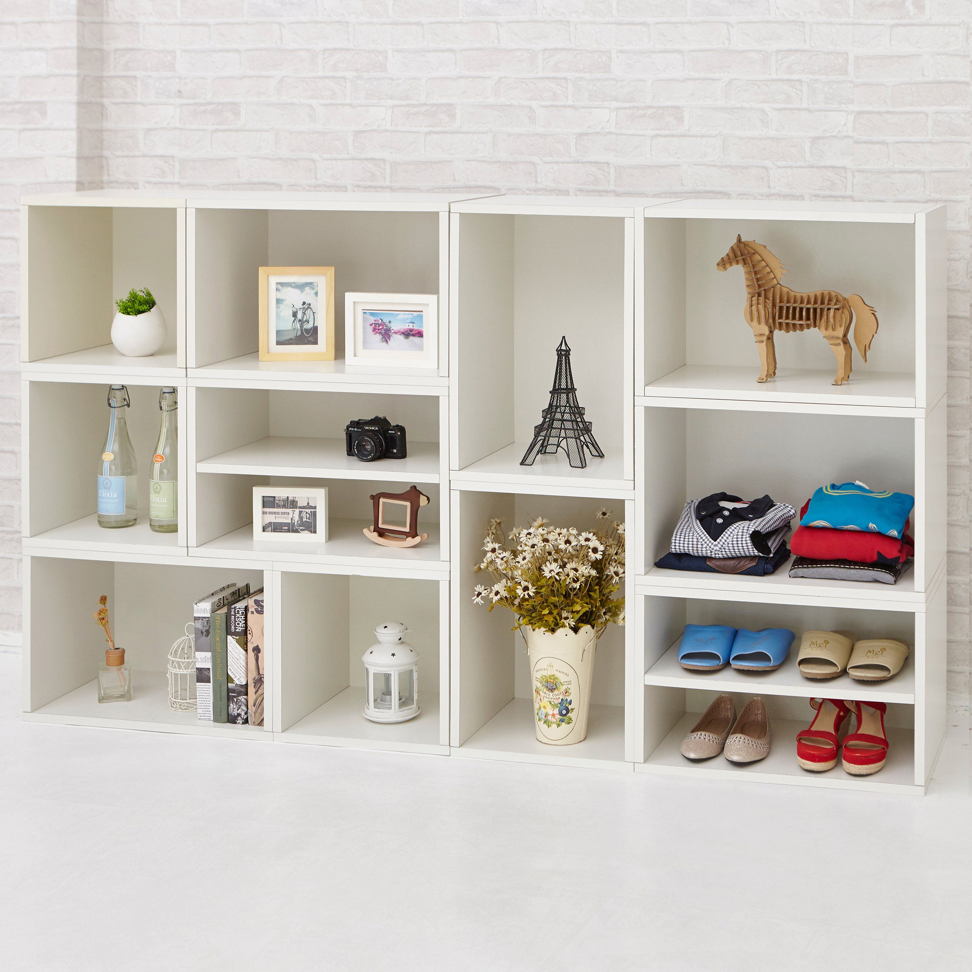 Way Basics Eco Rome Stackable Modular Bookcase And Storage