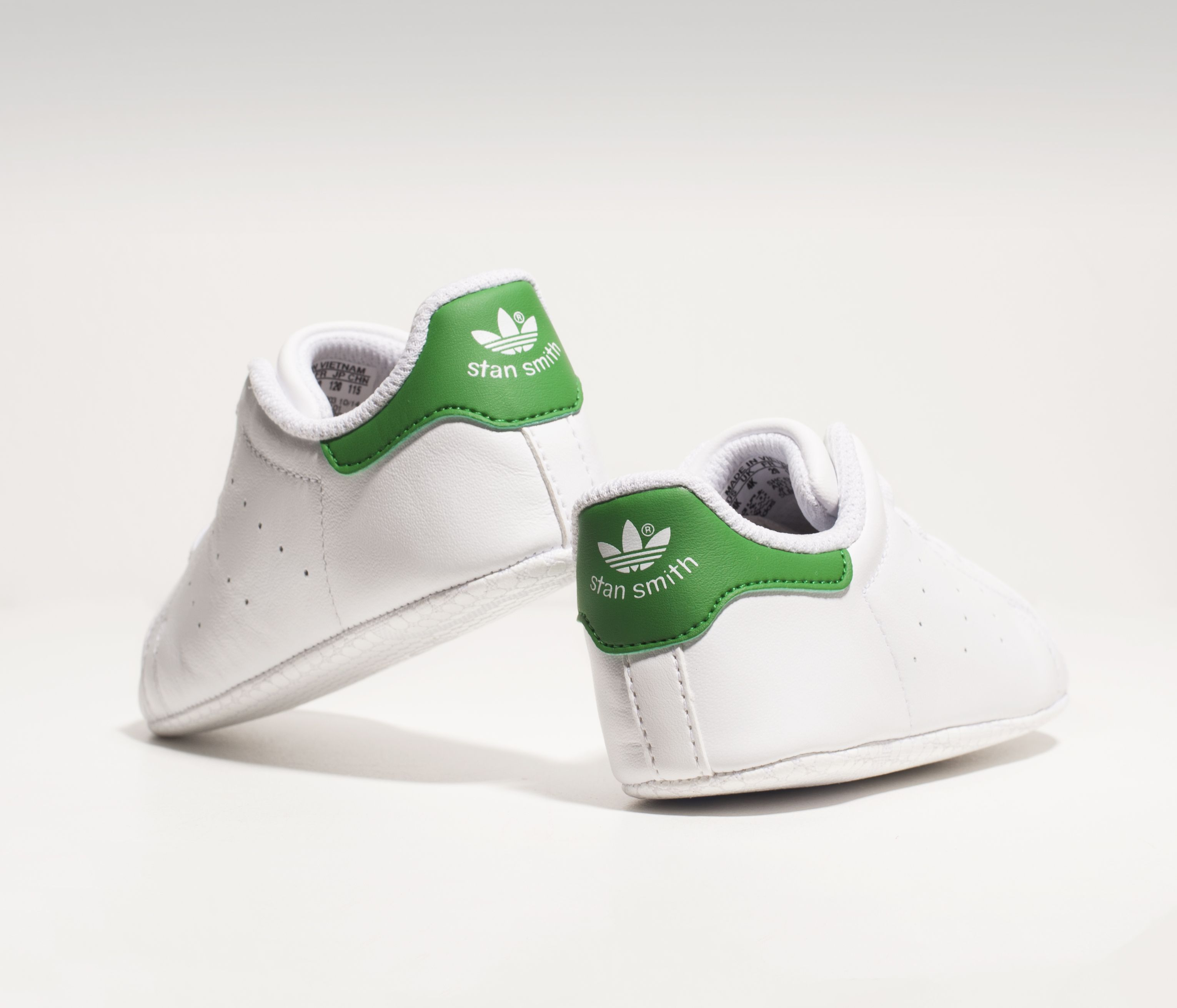 factory authentic b6961 1316f Timeless Adidas Stan Smiths can now be a life long staple. From crib and up.