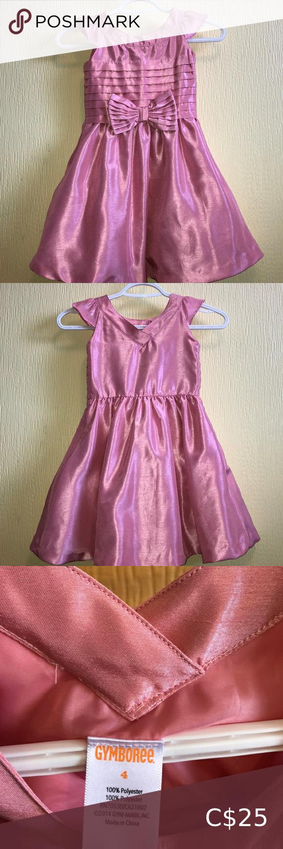 Pink Gymboree Party Dress 4t 4t Dress Party Dress Dresses [ 1740 x 580 Pixel ]