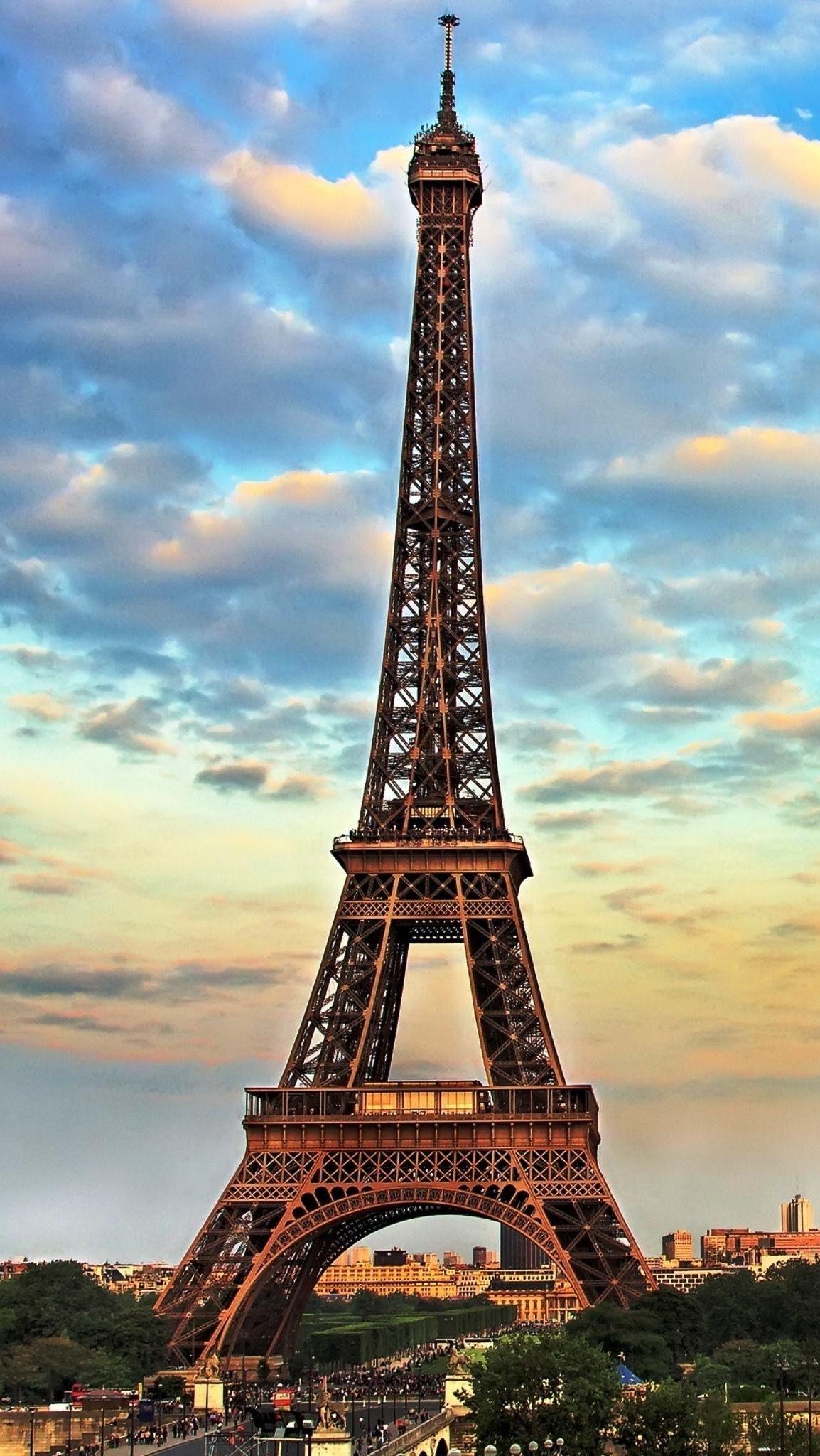 Обои Эйфелева башня, рисунок. Города foto 7