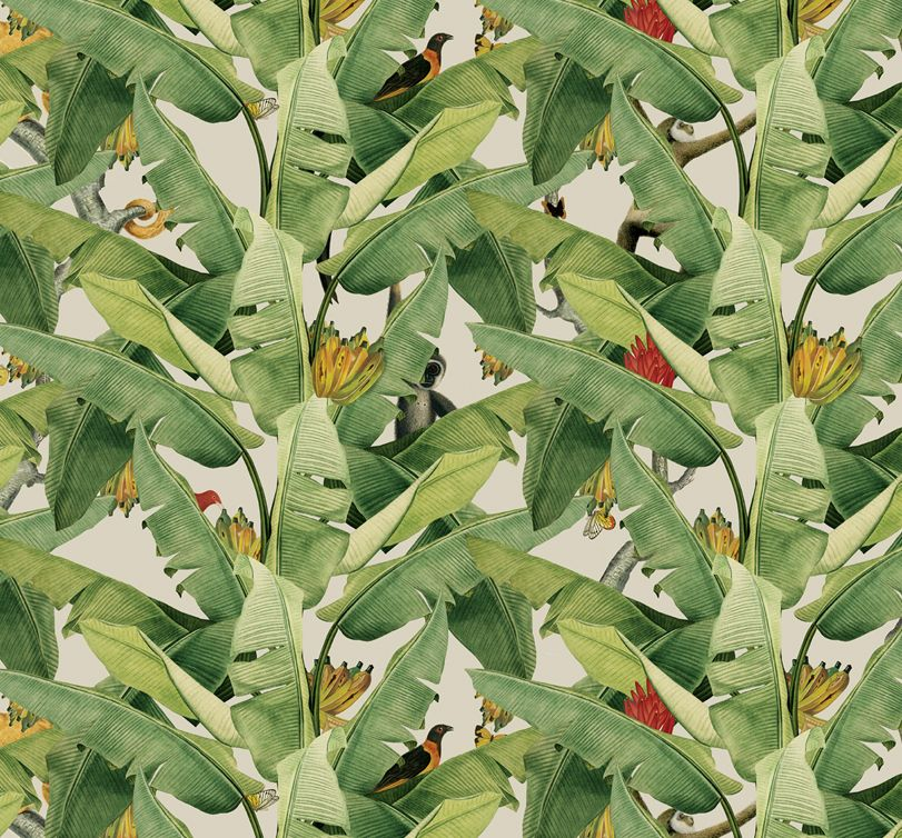 Jungle Fever Wallpaper Is A Lush Green Amazonian Design
