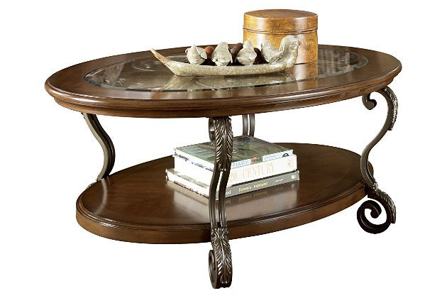 Oval Coffee Tables Table, Ashley Furniture Glass Coffee Table