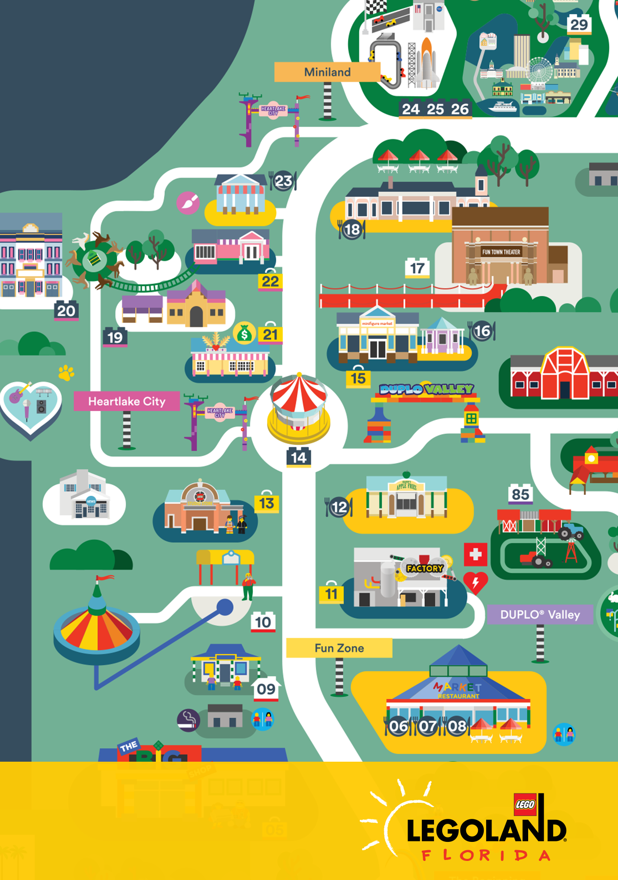 다음 @Behance 프로젝트 확인: \u201cLegoland Florida map 2016\u201d https://www.behance.net/gallery/44615875/Legoland-Florida-map-2016