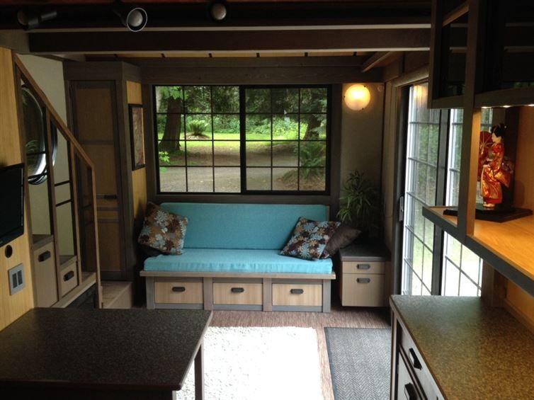dieses haus hat 26 m und ist von innen die reinste villa. Black Bedroom Furniture Sets. Home Design Ideas