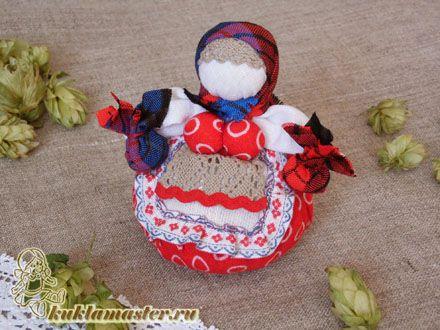 Славянские куклы. Делаем оберег на счастье 9