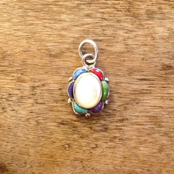 Vintage Italian Semiprecious Stone and Sterling by PaxTexana