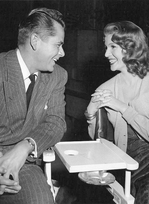 Rita Hayworth Glenn Ford Bfd Rita Hayworth Classic Hollywood Hollywood Icons