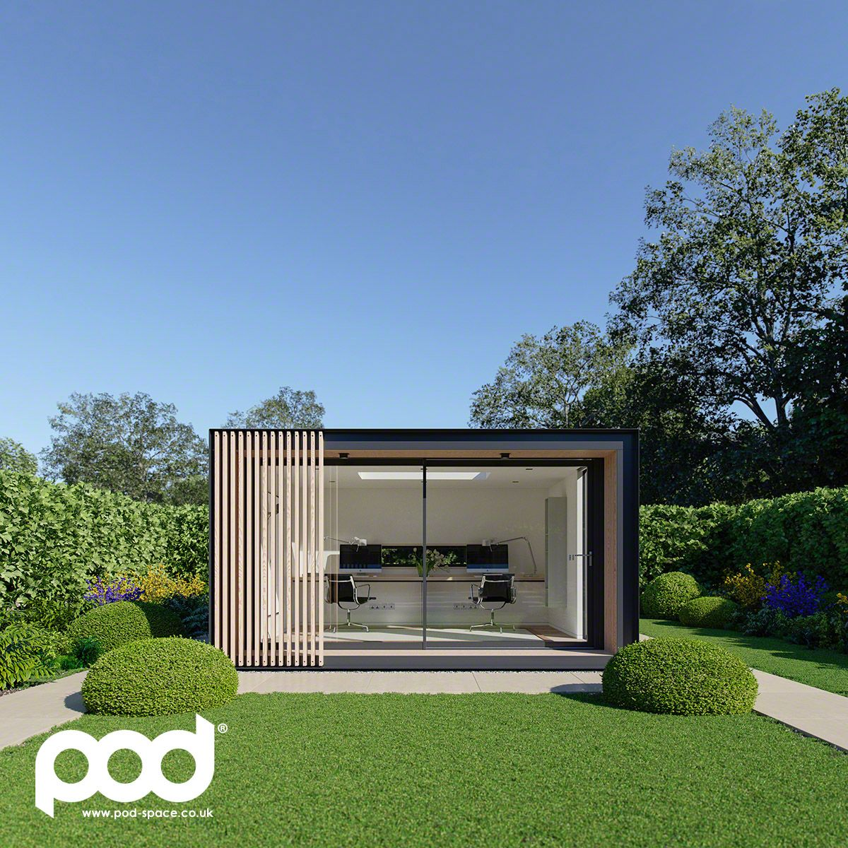 garden pod office. The New Sky Pod Our Is A Large, Open Plan Space Offering · Garden OfficeHome Office