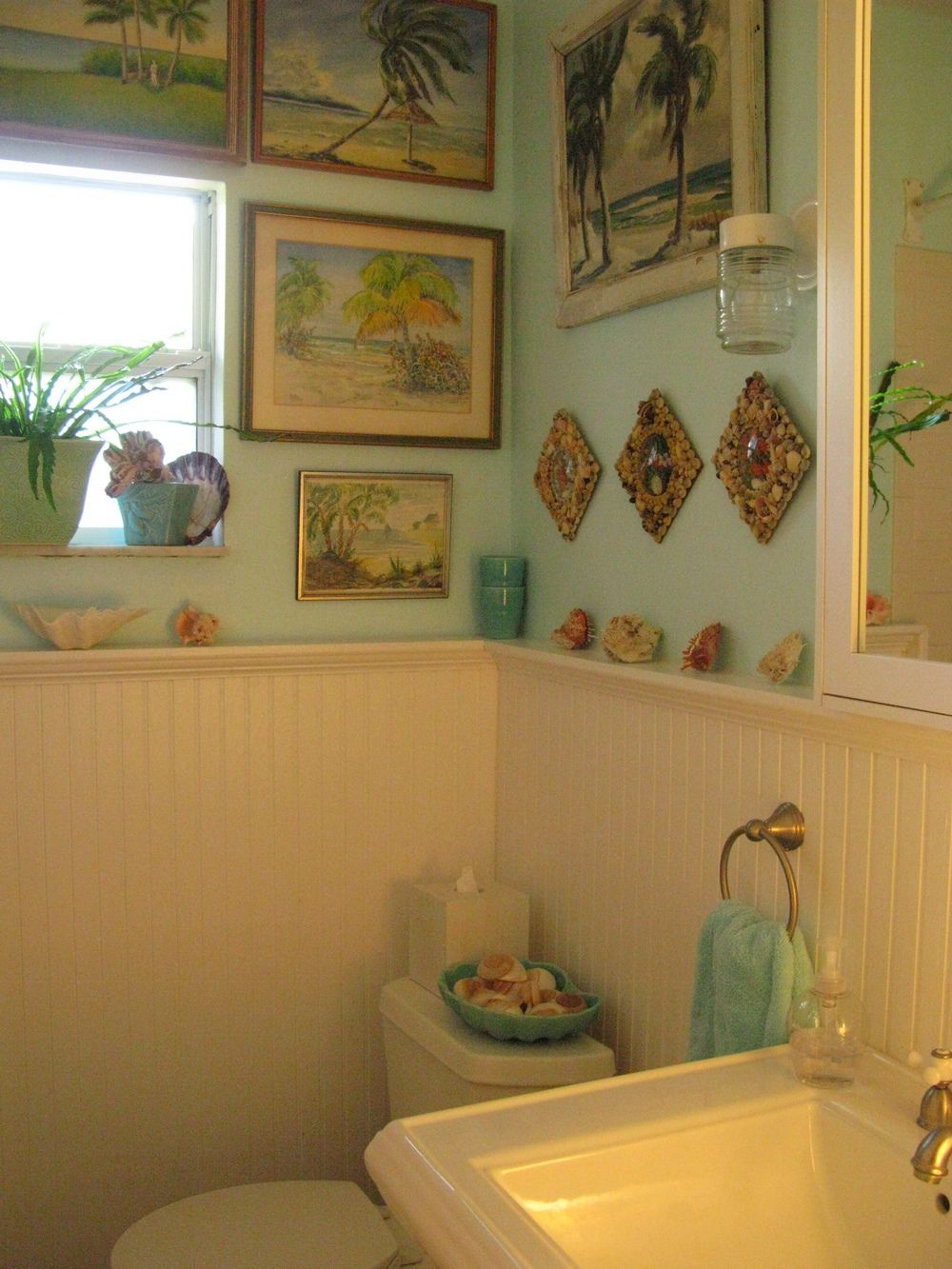 title | Beach Cottage Bathroom Decor