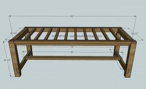 8 Person Dining Room Table Dimensions Farmhouse Table Plans