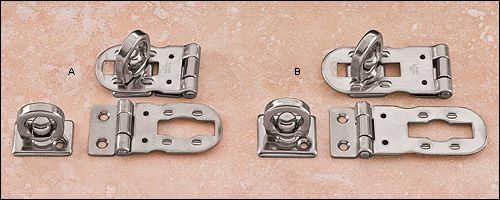 Stainless-Steel Hasp - Hardware