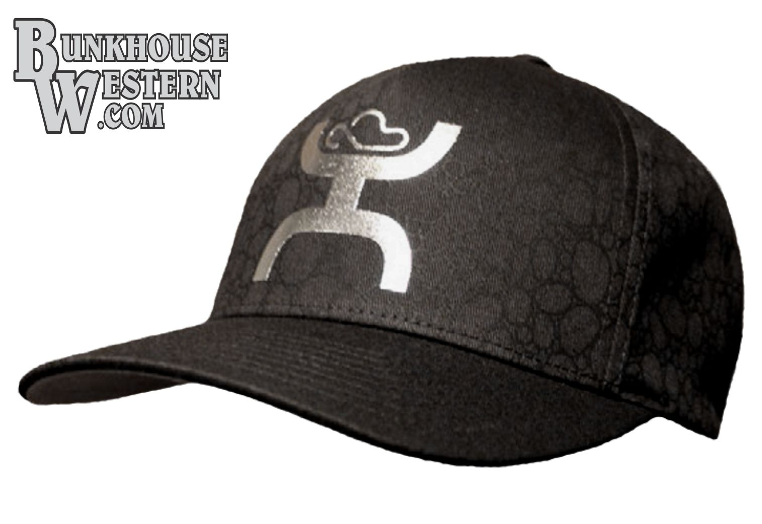 check out 855d1 bfe1b ... sale hooey bullet metallic silver flexfit cap get your hooey rodeo  cowboy d7130 88403
