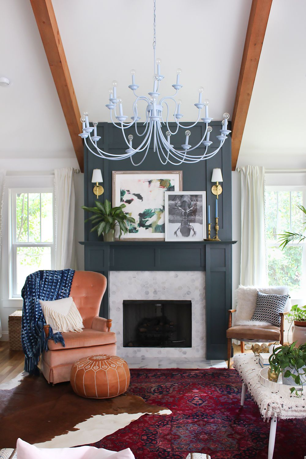 15+ Living room accent wall with fireplace info
