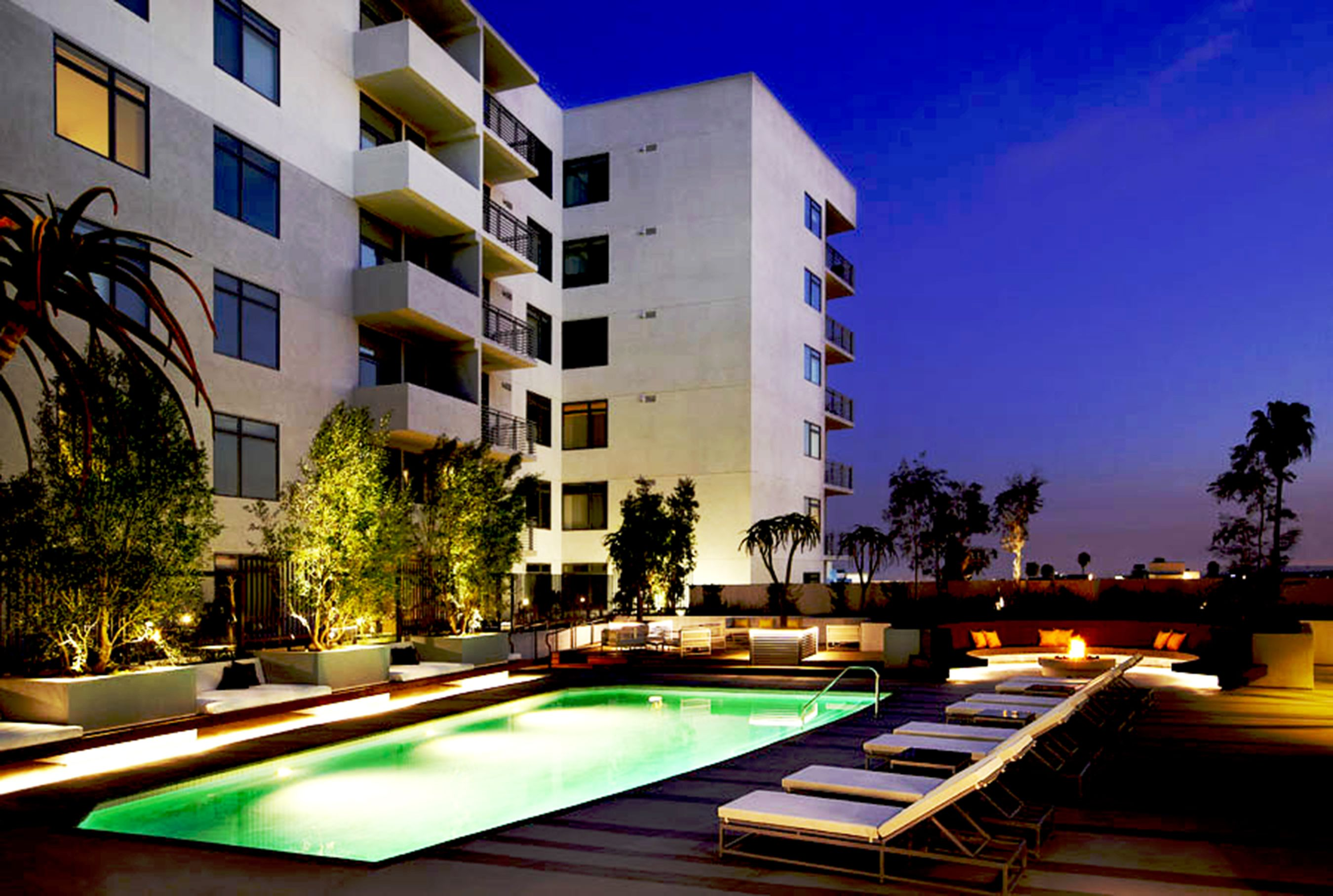 The Avenue Hollywood West Hollywood Apartments and Penthouses For
