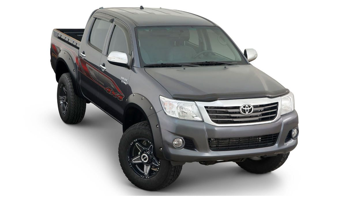 Toyota hilux fender flares