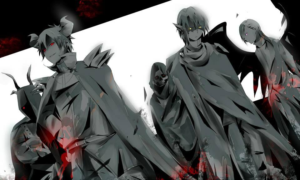 the demon generals | the devil is a part-timer | Pinterest