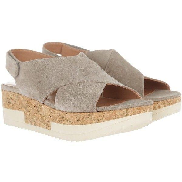 Homers Sandals - Tropez Plateau Sandal Crosta Funghi - in grey ... b9508b59c9