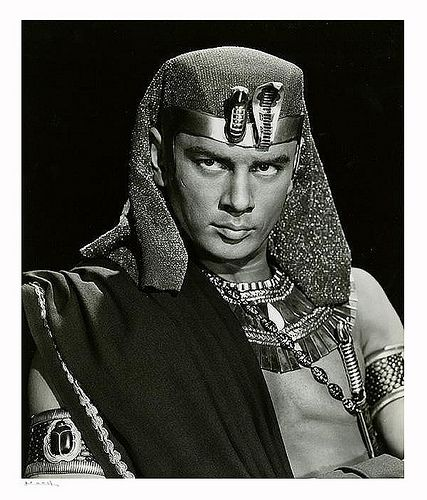 """10 Commandments Movie Quotes: Yul Brynner """"The Ten Commandments"""" 1956 By Yousuf Karsh"""