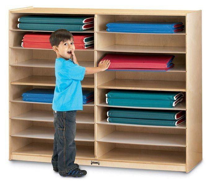 Jonti Craft Nap Mat Storage Classroom Furniture Child