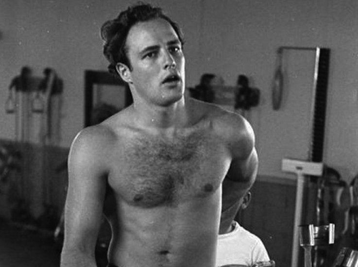 Brando marlon naked