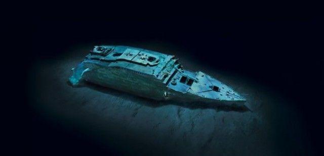 Titanic na National Geographic