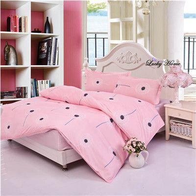 fitted sheet bedding set elastic linen set mattress cover bedclothes duvet cover set bed sheet linens cama flower 4pcs/set