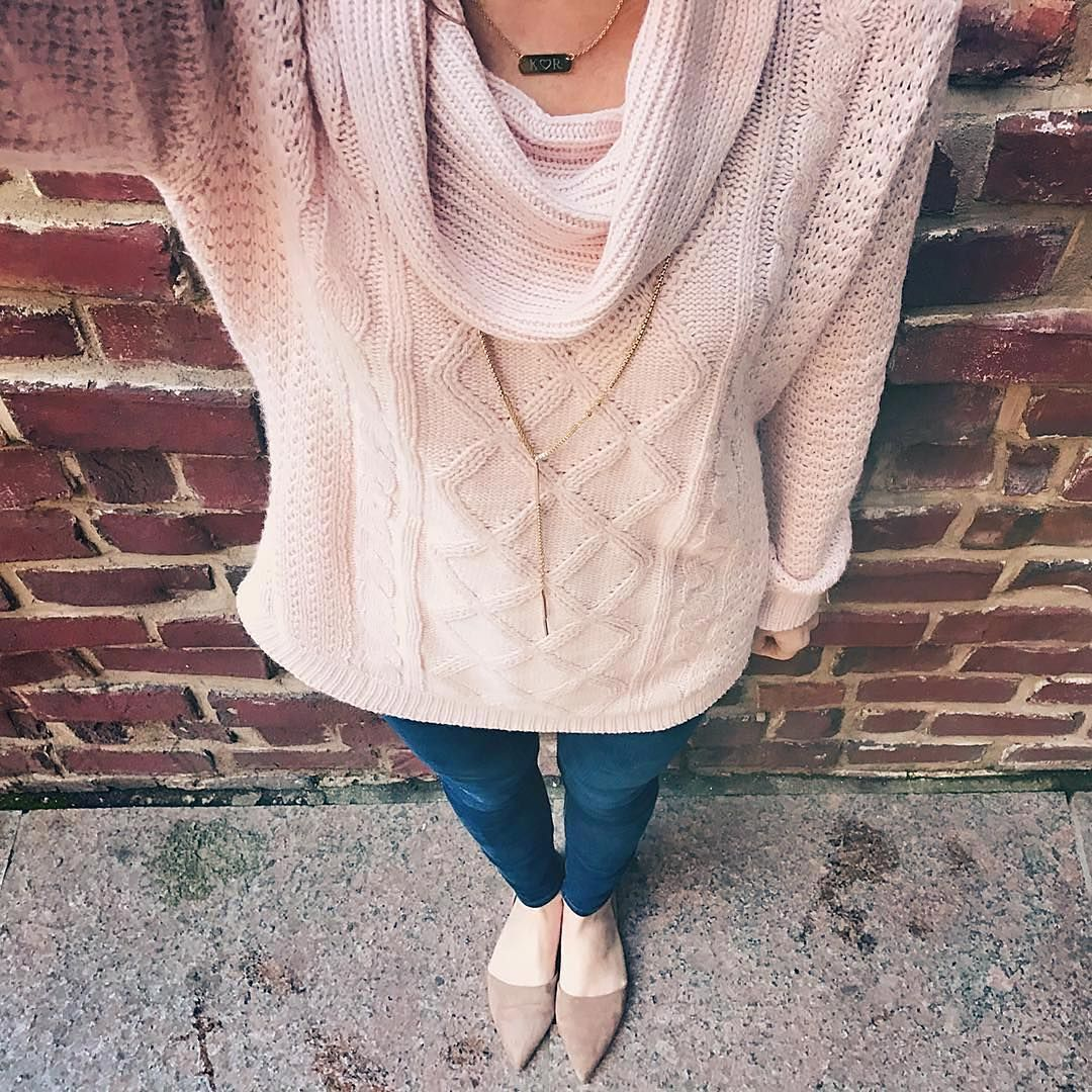 """24f56b2146773b """"Received this beautiful pink sweater from @stitchfix and I'm in love."""" You  have us blushing @lifeasallison! #regram. """""""