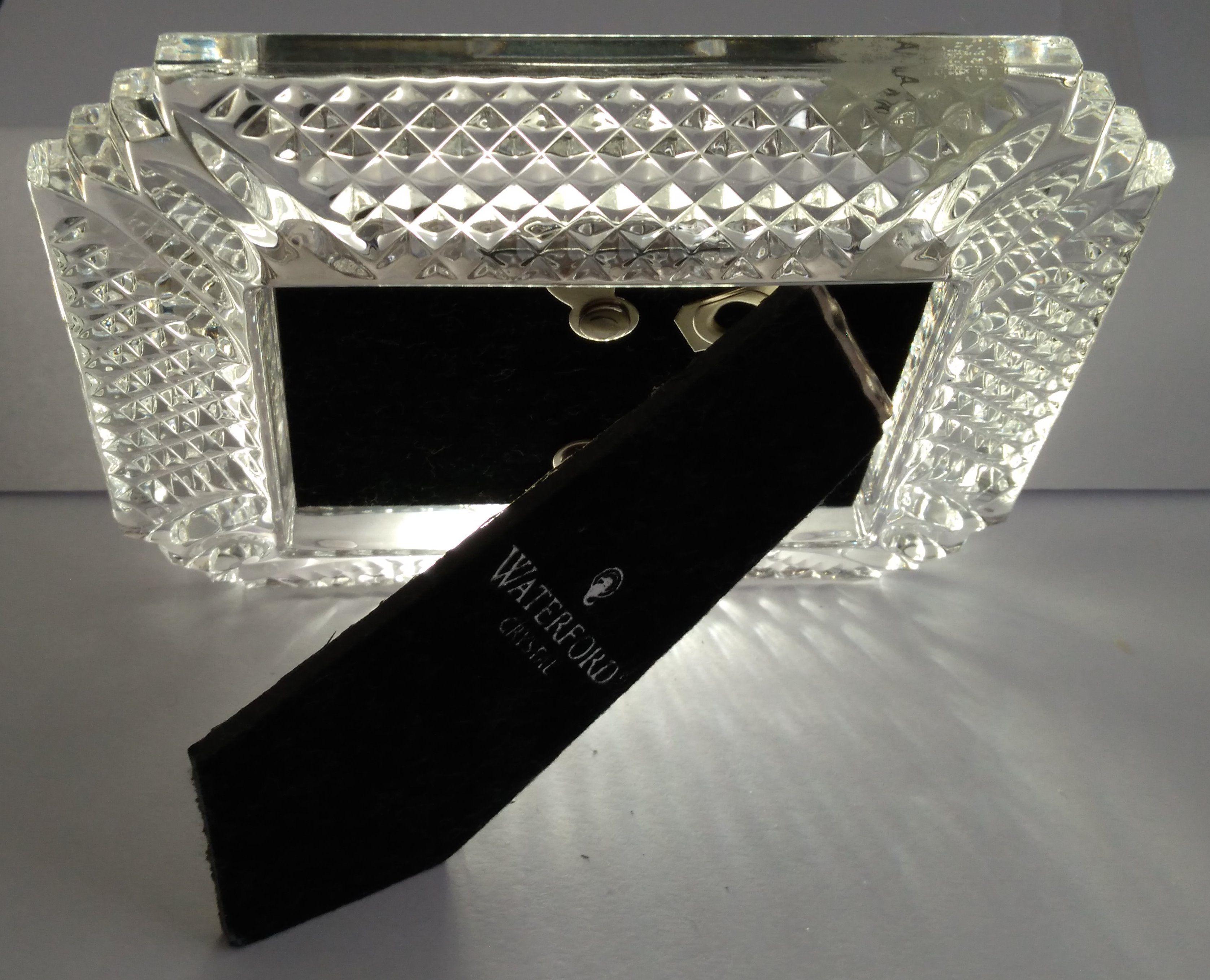 Waterford Crystal Makefield Picture Frame | Vintage Items