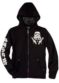 Star Wars Bring In The Storm Troopers Hoodie By Marc Ecko (Black) $79.00