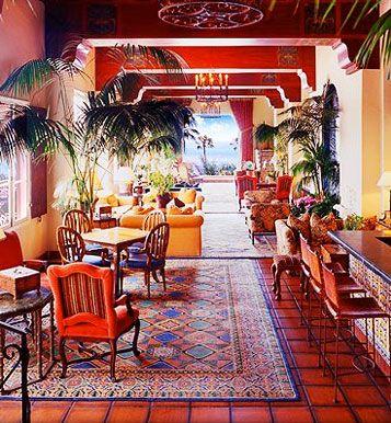 The Mediterranean Room At La Valencia Jolla Restaurants Sango Lajolla