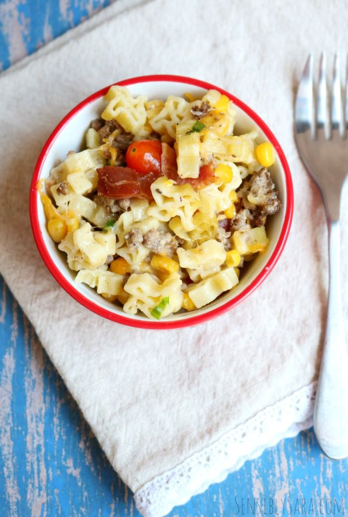Cowboy Casserole Recipe with Skinner Pasta Cowboy casserole