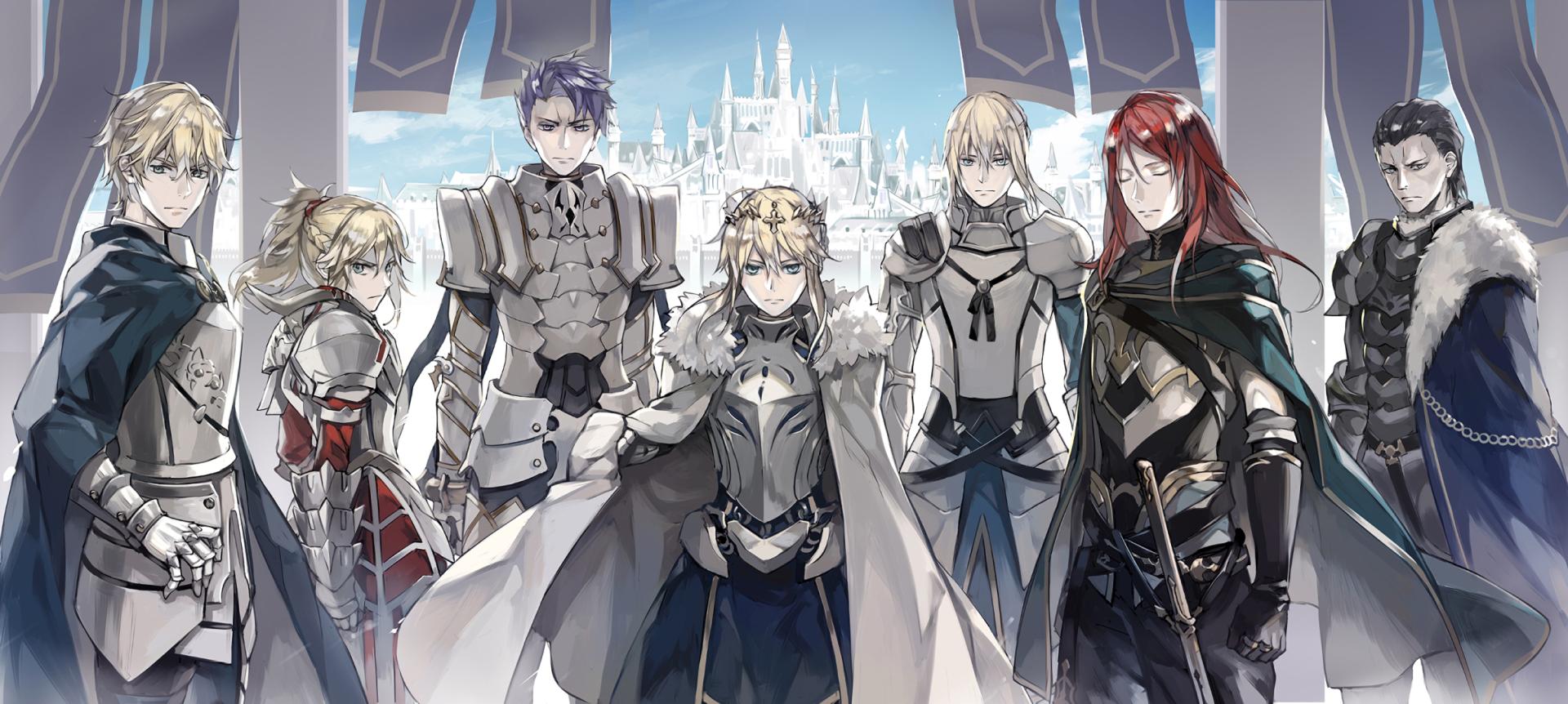 Anime Fate/Grand Order Fondo de Pantalla Personajes de