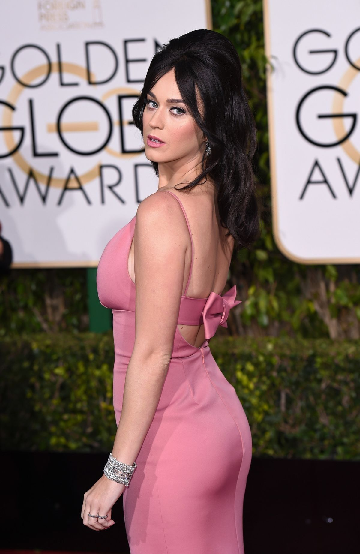 Katy Perry reveals her bargain, big hair secret at the