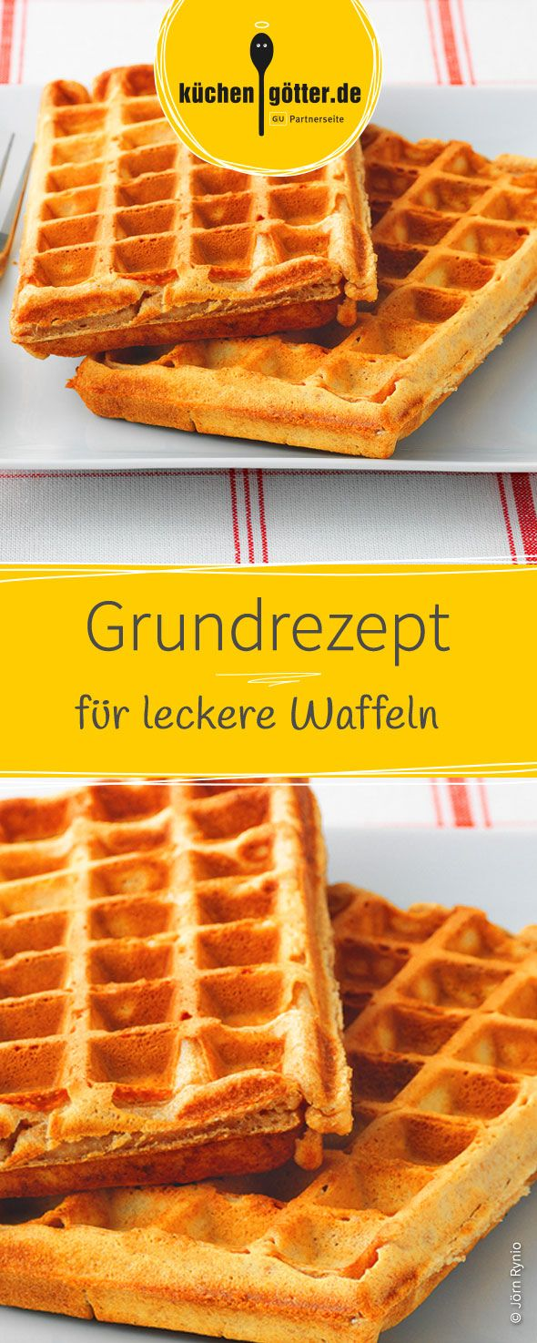 grundrezept waffeln rezept breakfast brunch waffelteig teig und kuchen. Black Bedroom Furniture Sets. Home Design Ideas