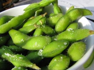 Edamame <3    +fantastic vegan website with tons of great recipes!