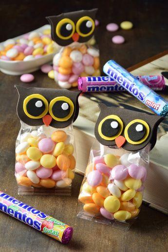 Te tenemos unos bonitos dulceros de búhos. Aparte de que quedan hermosos, este paso a paso es perfecto para realizarlo con los más pequeños de la casa. No puedes ofrecer una fiesta infantil sin dar de regalo estos bellos dulceros.